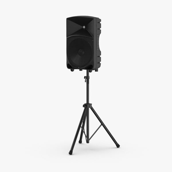 stage-speaker-02 3D model