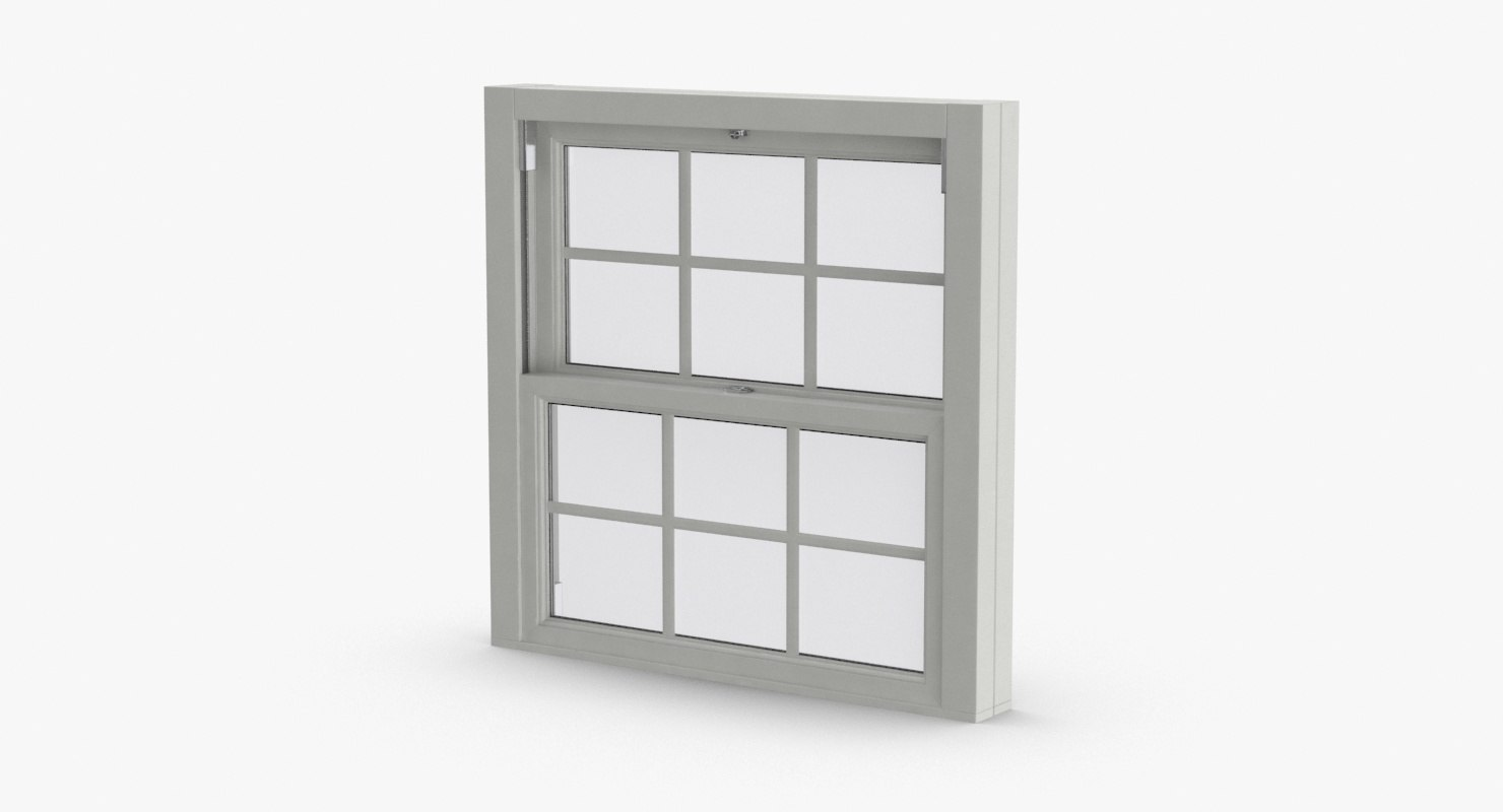 standard-windows---window-3-closed 3D model