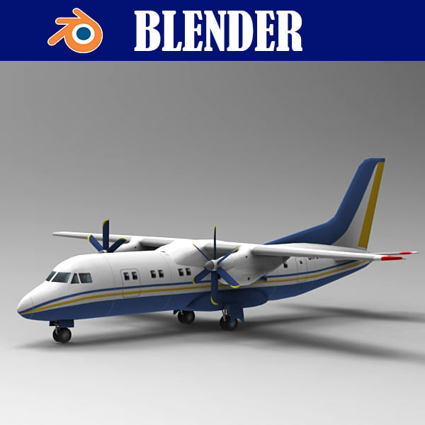 3D airliner aircraft transportation