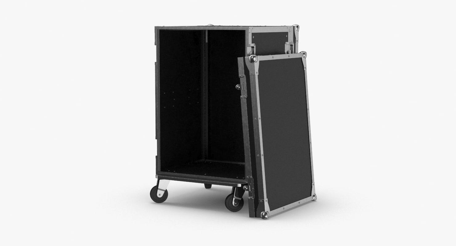 3D stage-flight-case-02---open model