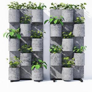 3D garden vertical stand