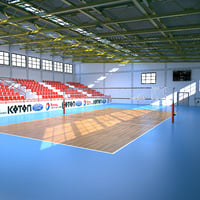 volleyball arena volley model