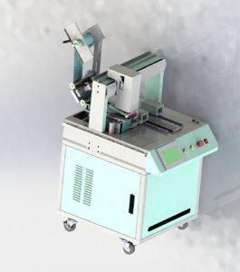 double location labeling machine 3D