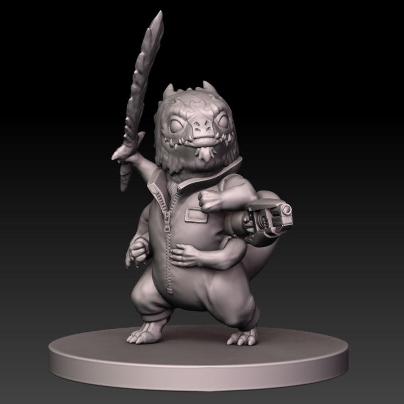 miniature skittermander 3D model