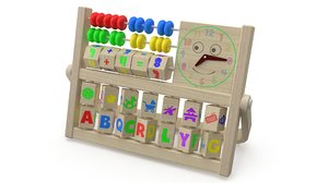 3D educational toy model