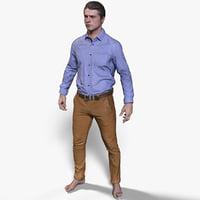 male office 3D model