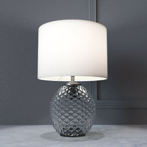 3D model decorative lamp glamour small