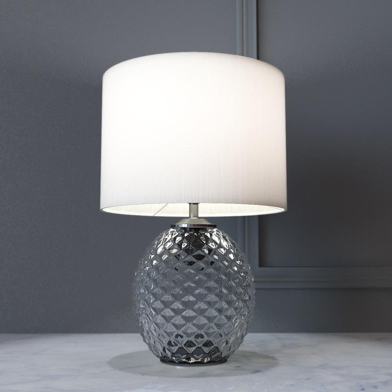 Small Decorative Lamp: 3D Model Decorative Lamp Glamour Small