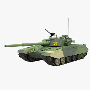 chinese type 98 3D model