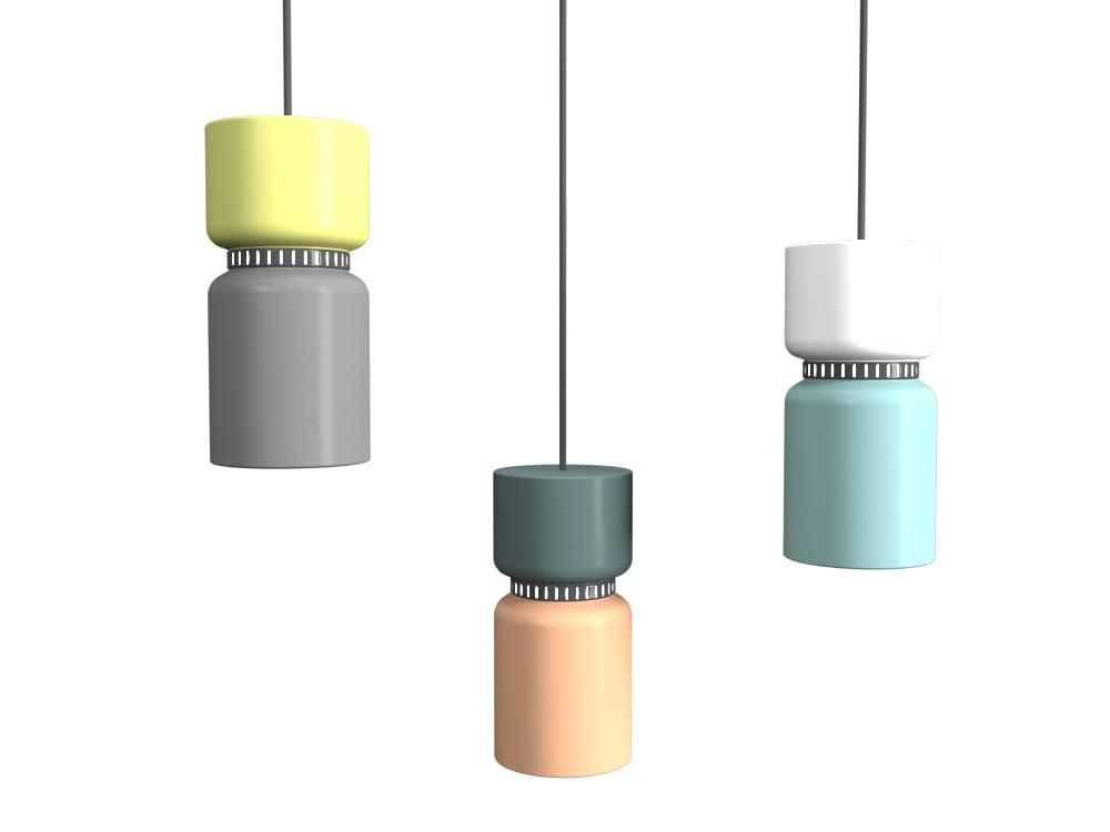 3D aspen lamp lighting