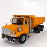 truck dumpertruck dumper 3D model