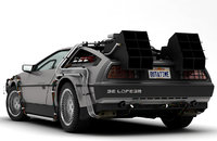 dmc delorean time machine 3D model
