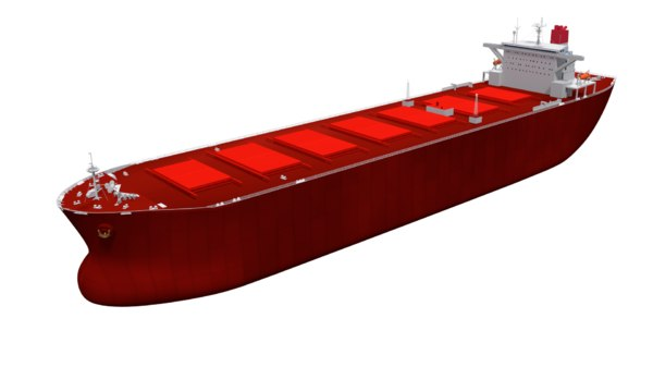 3D capesize bulk carrier