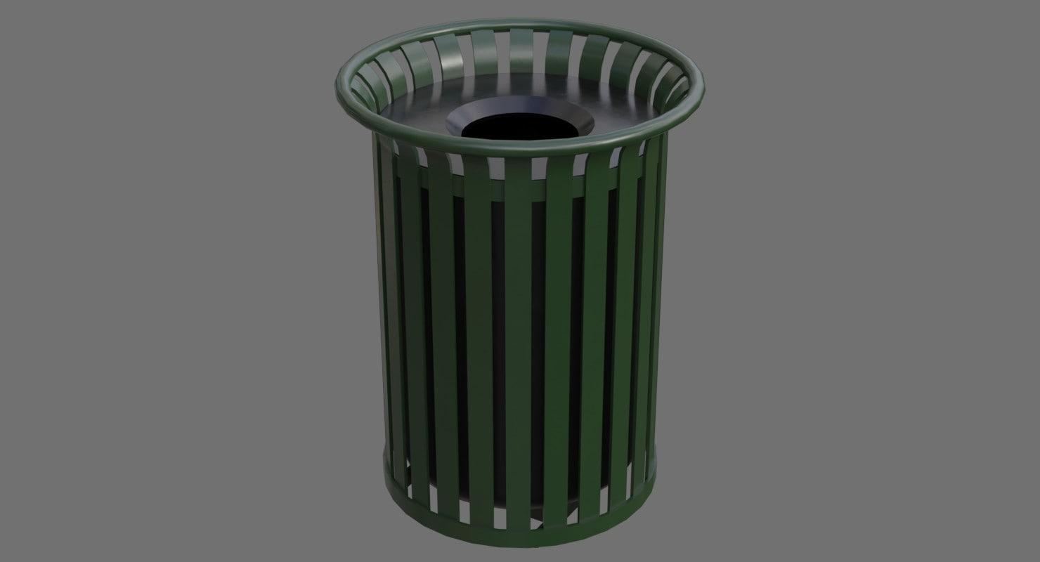 dustbin 4a 3D model