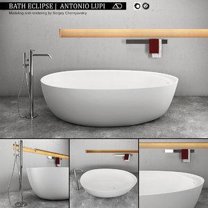 3D bath eclipse