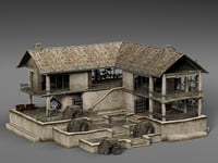 abandoned house games model