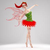 3D model fairy