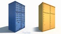 mailbox wall 3D