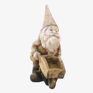 garden gnome 3D model