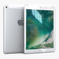 3D apple ipad 9 7 model
