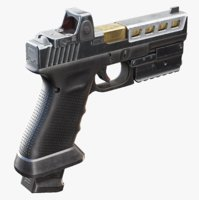 Glock 17 with Attachments