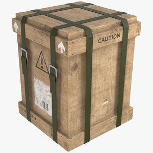 3D pbr loot crate
