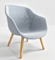 Lounge Chair Low Grey Hallingdal