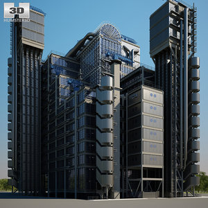 3D model lloyd s building