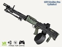 optimized l86 lsw machine gun 3D model