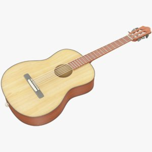 guitar musical instrument 3D model