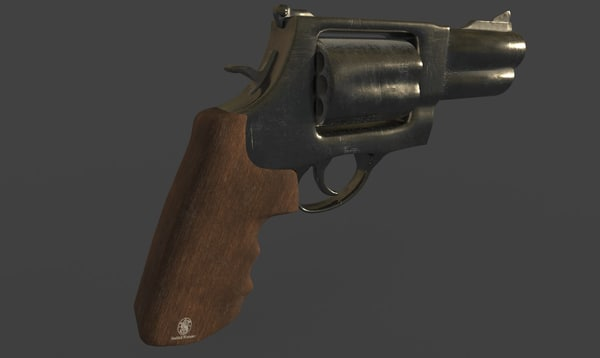 smith wesson gun 3D model