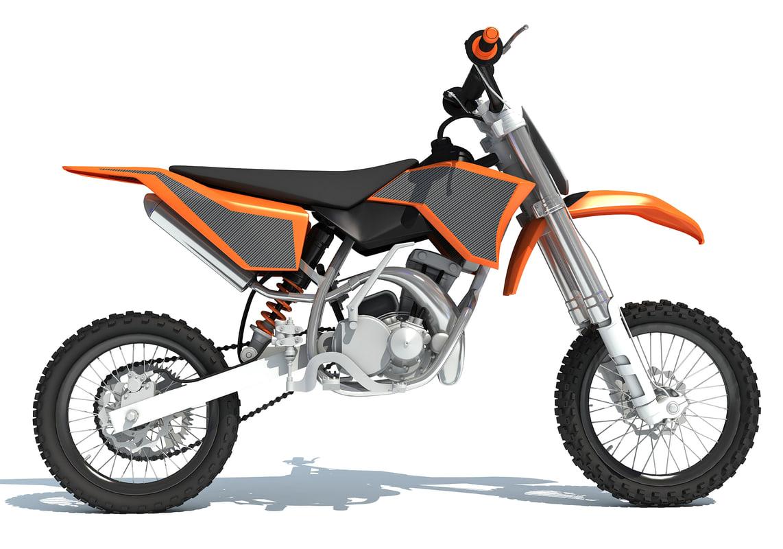 Motocross Bike 3d Model Turbosquid 1247026