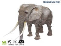 3D optimized elephant