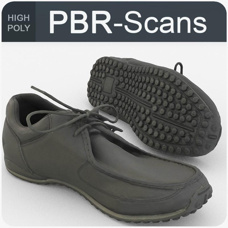 scans men s shoes model