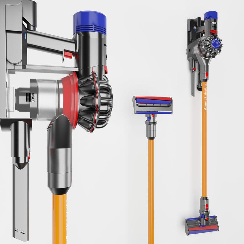3D model modeled vacuum cleaner