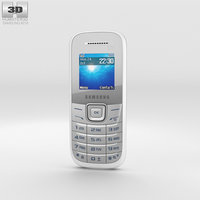 3D samsung e1205 white model