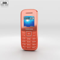 3D model samsung e1205 orange