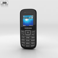 samsung e1205 black 3D model