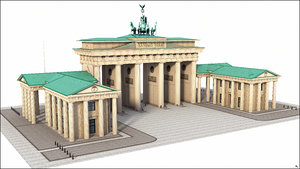 3D berlin gate