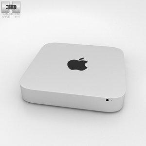 3D mac apple mini model