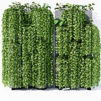 garden vertical stand 3D