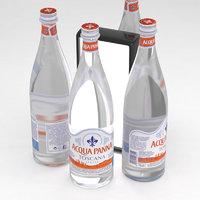 3D water soda