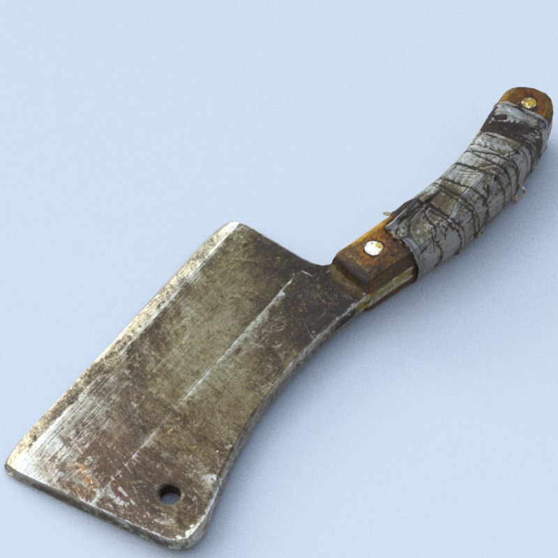 3D knife cleaver