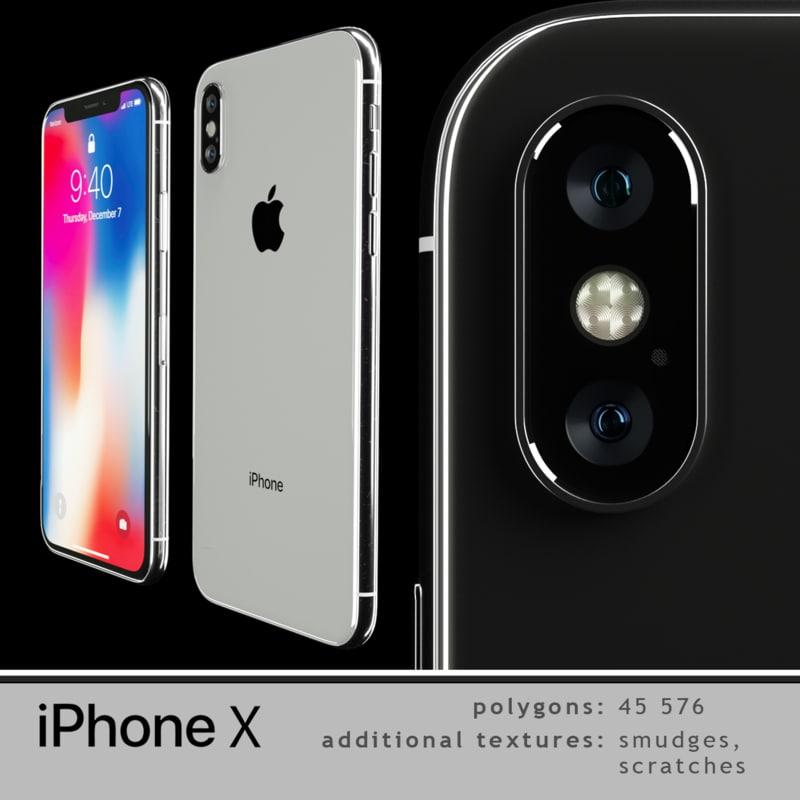 apple smudges 3D