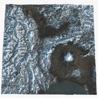 mount fuji area model