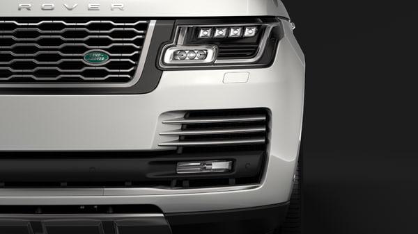 range rover vogue se 3D model