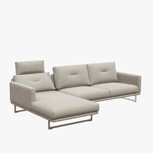 3D sofa mellow 1630 intertime model