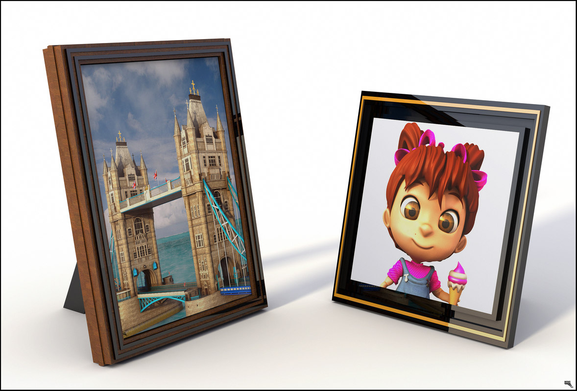 3D picture frame