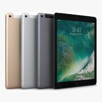 3D apple ipad 9 7