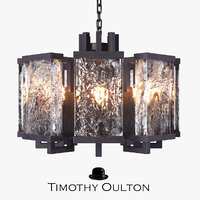 chandelier timothy oulton ice 3D model
